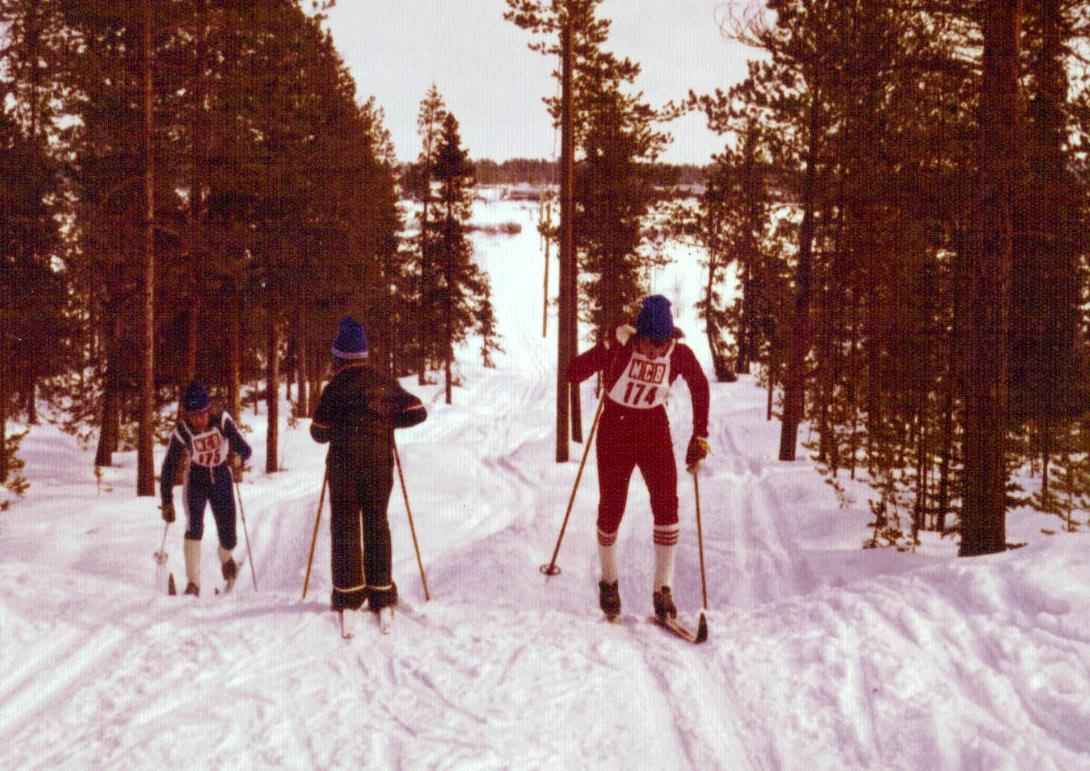 Det var en gång en ung, lovande skidåkare…